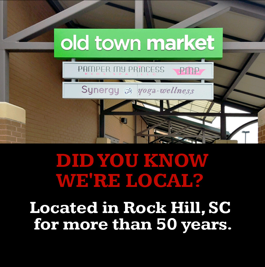 Did you know we're local?