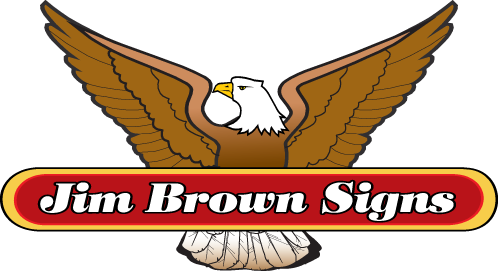 Jim Brown Signs logo